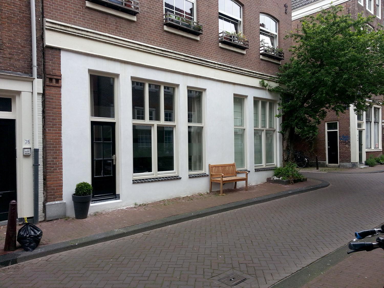 Gevelrenovatie Van Een Woning In De Jordaan, Amsterdam