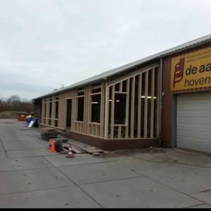 Nieuwbouw Van Een Kantoor Voor De Aar Hoveniers.