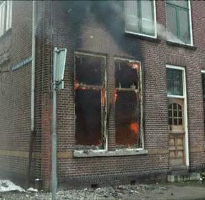 Brand In Een Woning Aan De Stieltjesstraat In Utrecht.