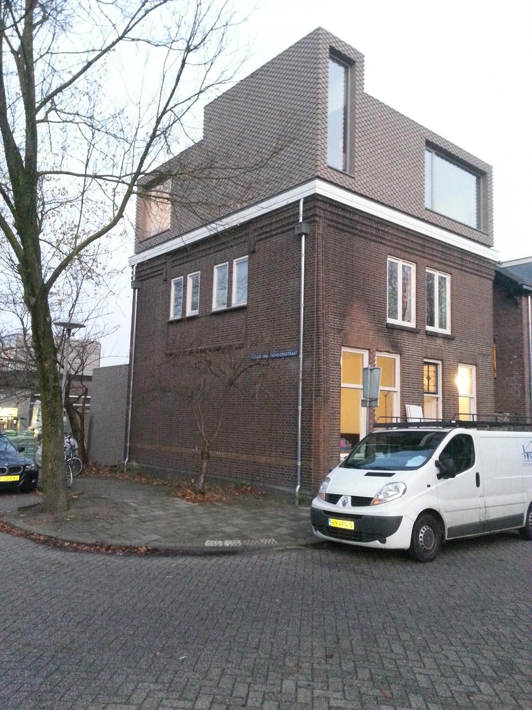 Uitbreiding en verbouw van een woning aan de stieltjesstraat - Bureau van de uitbreiding ...