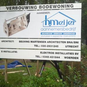 Verbouwing Bodewoning Maartensdijk-